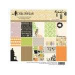 Websters Pages - Once Upon a Halloween Collection - Petite Paper - 6 x 6 Paper Pack