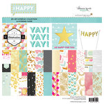 Websters Pages - Happy Collection - 12 x 12 Paper Pad