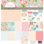 Websters Pages - Love Story Collection - 12 x 12 Deluxe Paper Pad - Volume 4