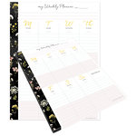 Websters Pages - The Good Life Collection - Weekly Planner Tear-Away Pad - Undated