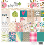 Websters Pages - My Happy Place Collection - 8 x 8 Paper Pad
