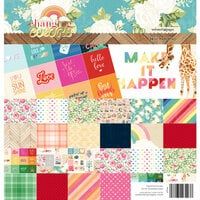 Websters Pages - Changing Colors Collection - 8 x 8 Paper Pad