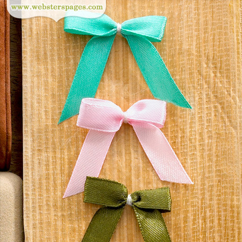 Websters Pages - Quick Picks Collection - Solid Bows - One