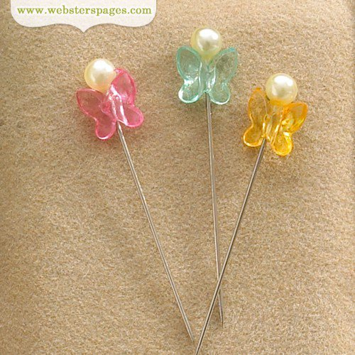 Websters Pages - Quick Picks Collection - Butterfly Pins 2