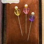 Websters Pages - Quick Picks Collection - Heart Pins 2