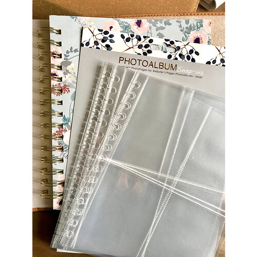 Websters Pages - Color Crush Collection - Snap In Assorted Photo Pages - Small