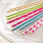 Websters Pages - Growing Up Girl Collection - Bundle of Straws