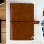 Websters Pages - Color Crush Collection - Travelers Planner - Walnut