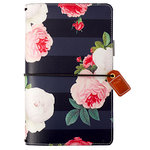 Websters Pages - Color Crush Collection - Travelers Planner - Black Floral