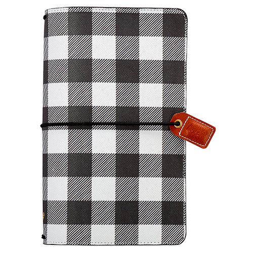 Websters Pages - Color Crush Collection - Travelers Planner - Buffalo Plaid