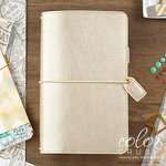 Websters Pages - Color Crush Collection - Travelers Planner - Champagne