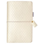 Websters Pages - Color Crush Collection - Travelers Planner - White Diamond Stitching