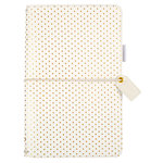 Websters Pages - Color Crush Collection - Travelers Planner - Embossed Gold Dot