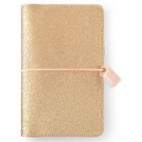 Websters Pages - Color Crush Collection - Traveler's Notebook Planner - Gold Glitter
