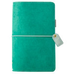 Websters Pages - Color Crush Collection - Travelers Planner - Aspen Green Suede