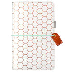 Websters Pages - Color Crush Collection - Travelers Planner - Copper Hexagon