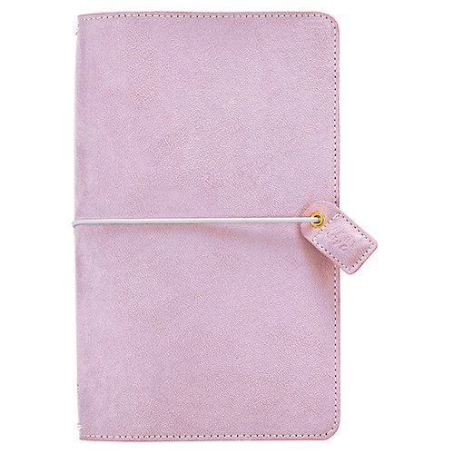 Websters Pages - Color Crush Collection - Travelers Planner - Soft Lilac