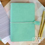 Websters Pages - Color Crush Collection - Travelers Planner - Mint