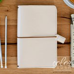 Websters Pages - Color Crush Collection - Traveler's Planner - Natural