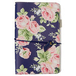 Websters Pages - Color Crush Collection - Traveler's Planner - Navy Floral