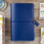 Websters Pages - Color Crush Collection - Travelers Planner - Navy