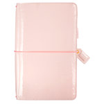 Websters Pages - Color Crush Collection - Travelers Planner - Patent Leather Petal Pink