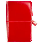 Websters Pages - Color Crush Collection - Travelers Planner - Patent Leather Red