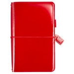 Websters Pages - Color Crush Collection - Traveler's Planner - Patent Leather Red