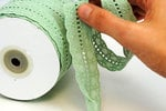 Websters Pages - Designer Ribbon - Starfish Breeze - 30 Yards