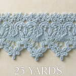 Websters Pages - Designer Ribbon - Dusty Blue - 25 Yards