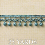 Websters Pages - Designer Ribbon - Peacock Petite - 25 Yards, BRAND NEW