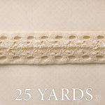 Websters Pages - Yacht Club Collection - Designer Ribbon - Sand Dollar - 25 Yards
