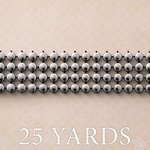 Websters Pages - Trendsetter Collection - Designer Ribbon - Beaded Links - 25 Yards