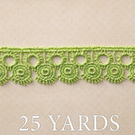 Websters Pages - Trendsetter Collection - Designer Ribbon - Green Fashion - 25 Yards