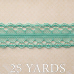 Websters Pages - Country Estate Collection - Designer Ribbon - Country Blue - 25 Yards