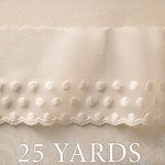 Websters Pages - Country Estate Collection - Designer Ribbon - Estate Polkas - 25 Yards