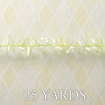 Websters Pages - Designer Ribbon - Tinsel - Green Petite - 25 Yards