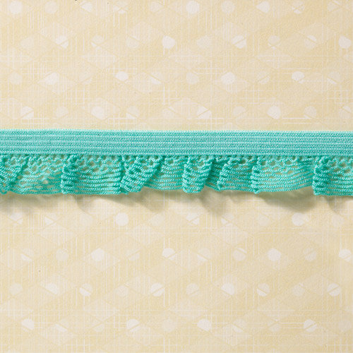 Websters Pages - Sunday Picnic Collection - Designer Ribbon - Picnic Ruffles - 25 Yards