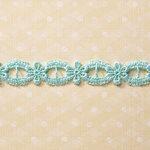 Websters Pages - Designer Ribbon - Blue Elegant - 25 Yards