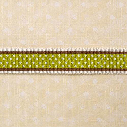 Websters Pages - Designer Ribbon - Game Polka - 25 Yards