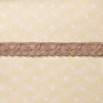 Websters Pages - Designer Ribbon - Taupe Details - 25 Yards