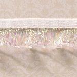 Websters Pages - Designer Ribbon - White Elastic Trim - 25 Yards