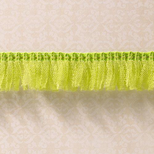 Websters Pages - Designer Ribbon - Tutu Green - 25 Yards