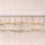 Webster's Pages - Designer Ribbon - Sparkle Edge Gold - 25 Yards