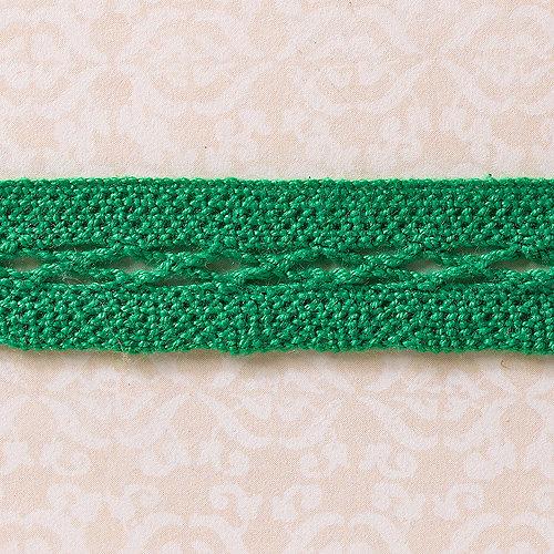 Websters Pages - Designer Ribbon - Embroider Green - 25 Yards