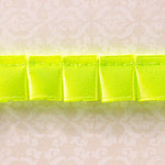 Websters Pages - Designer Ribbon - Green Ruffle - 25 Yards