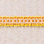 Websters Pages - Designer Ribbon - Scallop Sunshine - 25 Yards