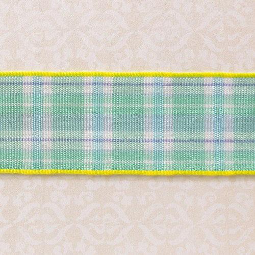 Websters Pages - Designer Ribbon - Plaid - 25 Yards