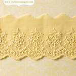 Websters Pages - New Beginnings Collection - Cream Eyelet - 25 Yards