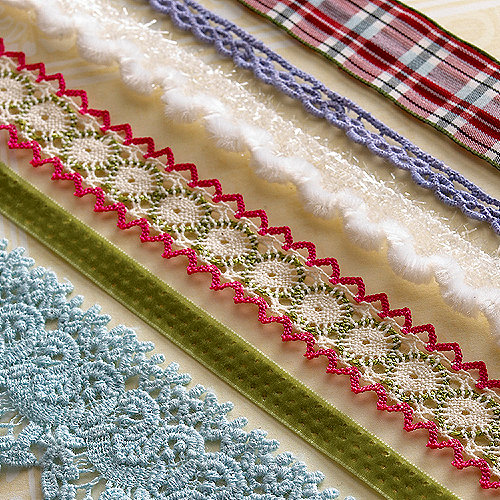 Websters Pages - Designer Trim and Ribbon - Waiting for Santa and Sweet Season